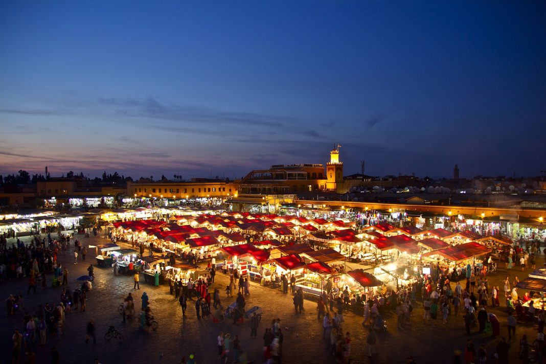 Grande place Marrakech