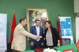 Signature d'un mémorandum suisse maroc